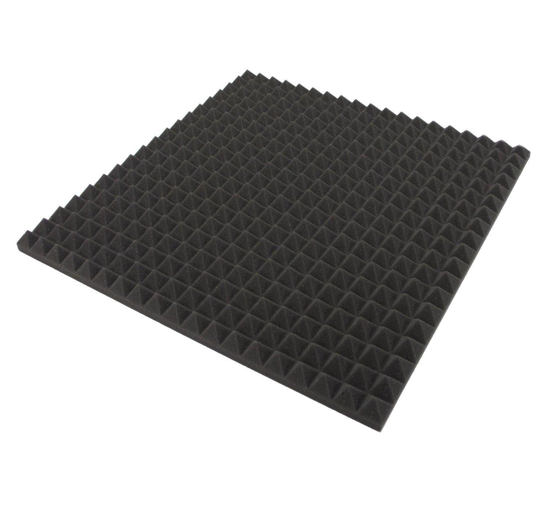 Espuma Acústica Piramidal. Medidas 50x50x3